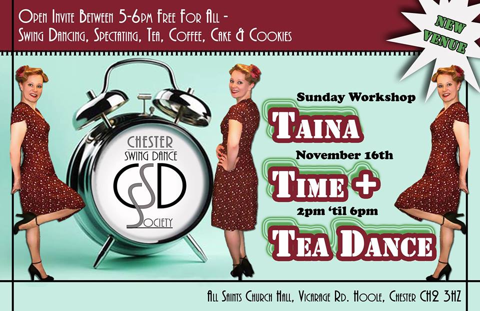 Taina Time + Tea Dance = TTT